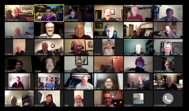 Virtual North Pennsmen Rehearsal - HOLIDAY PARTY